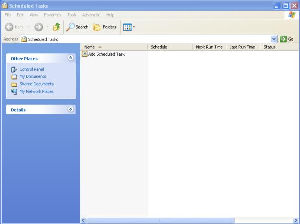 Windows XP - Add Scheduled Task