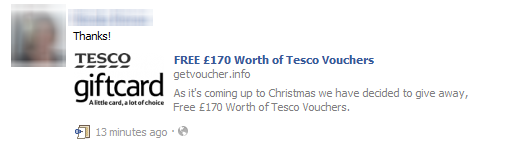 free-tesco-vouchers-facebook-scam