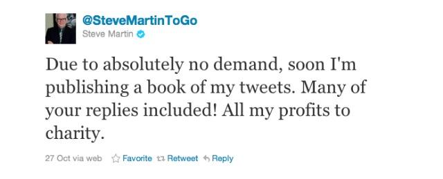 Steve Martin Twitter