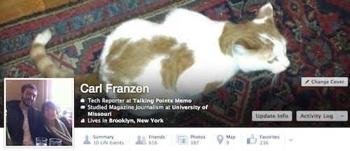 new facebook timeline