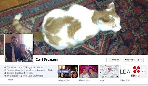 old facebook timeline
