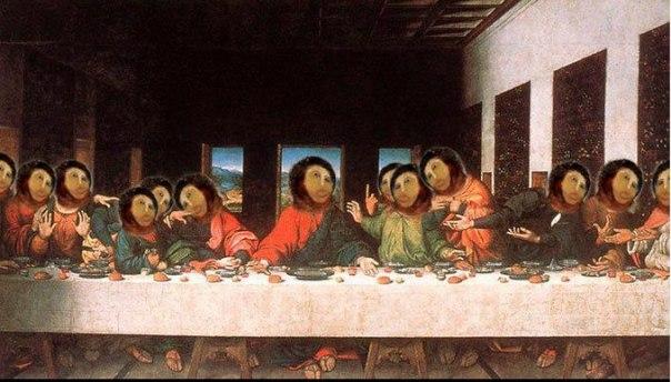 fresco restoration parodies
