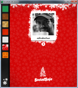 SocialSafe Christmas Theme