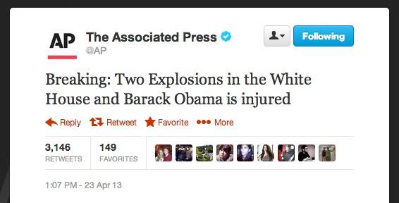AP Twitter Hack