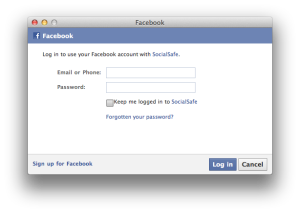 Facebook Authorisation