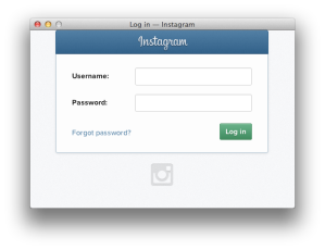 Instagram Authorisation