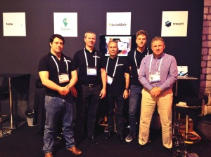 socialsafe team at leweb
