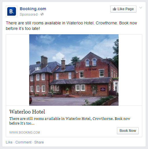 Facebook ads based on Google Searches
